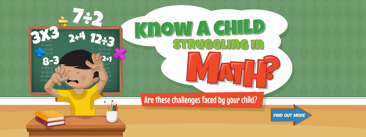 Know a child struggling in Math?
